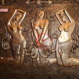 Mẫu tượng nữ khỏa thân composite