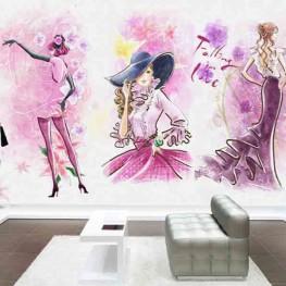 Vẽ tranh tường shop, cửa hàng