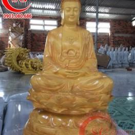 Thi công điêu khắc tượng Phật composite