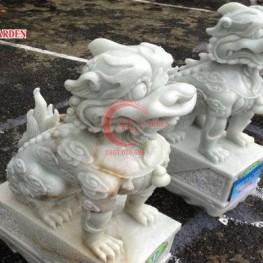 Cung cấp tượng điêu khắc Lân composite