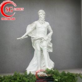Thiết kế cung cấp tượng châu Âu sân vườn